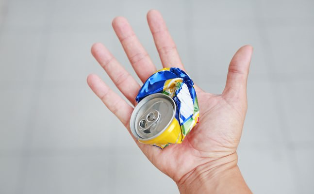 crush a can day