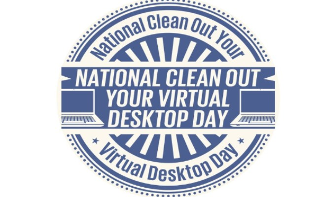 national clean out your virtual desktop day