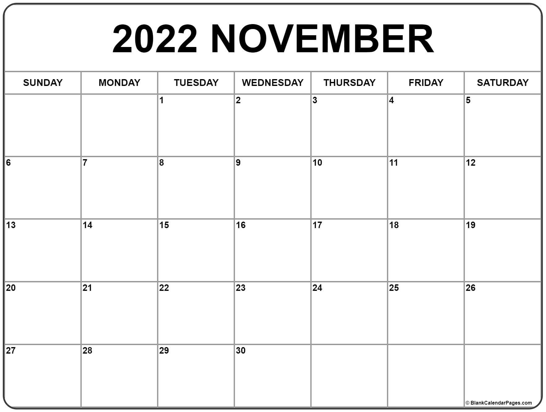 November 2022 calendar .  November calendar 2022