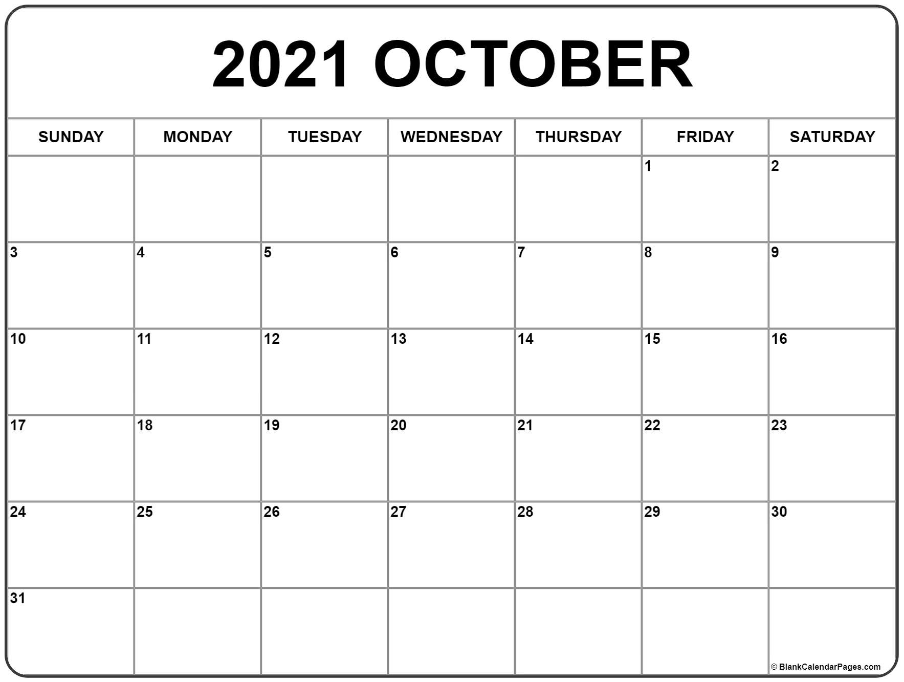photograph regarding Free Printable October Calendars identify Oct 2019 calendar absolutely free printable every month calendars