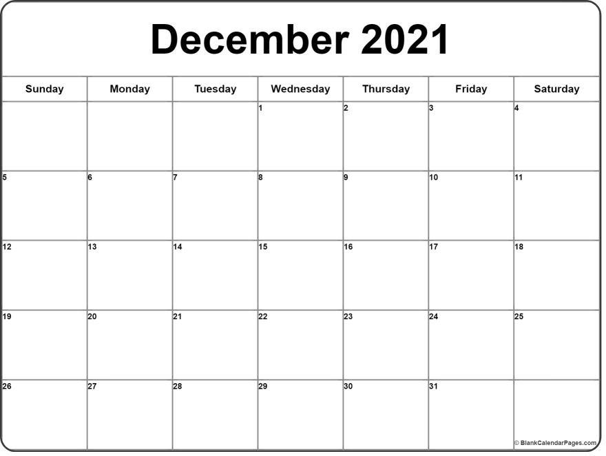 December 2020 calendar | 56+ templates of 2020 printable ...