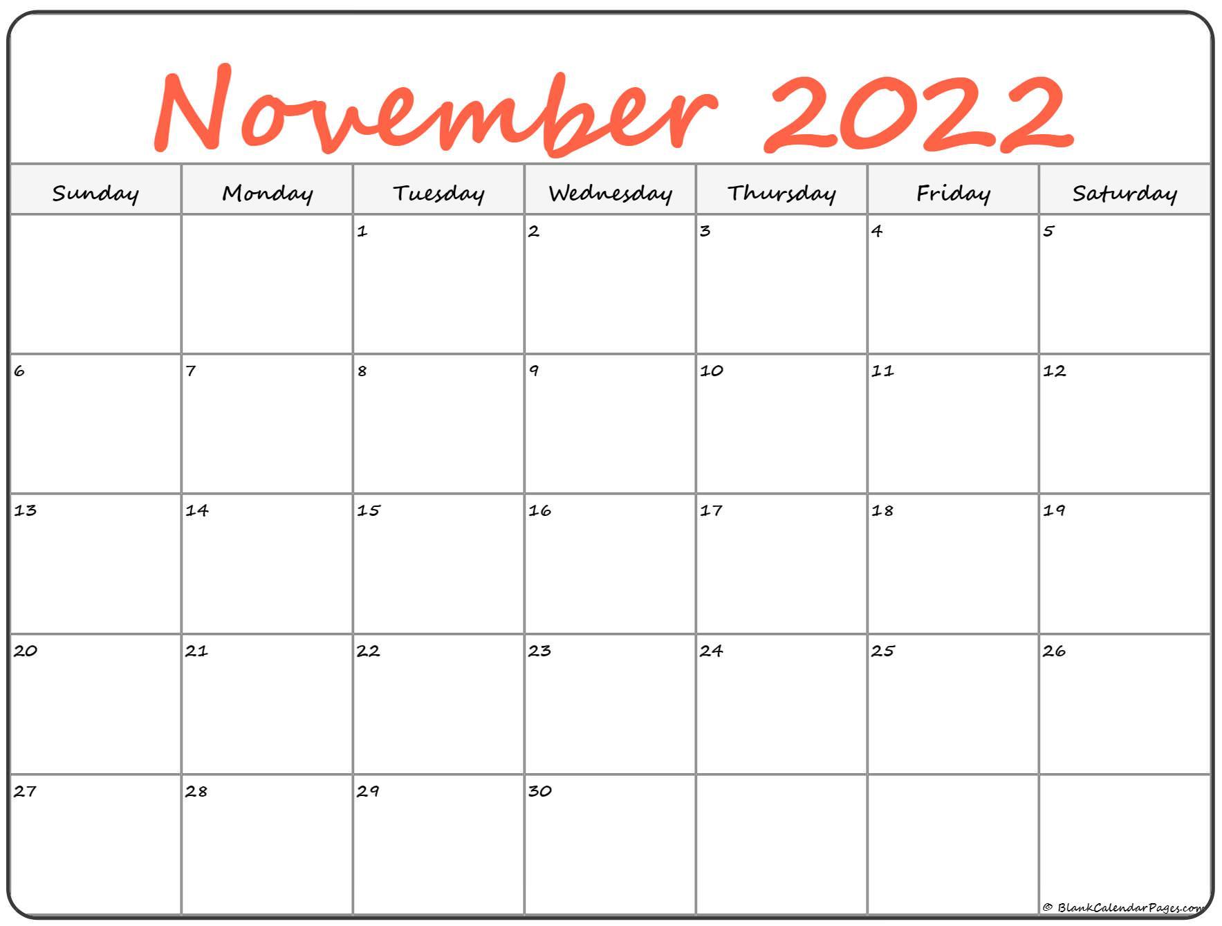 Lego November 2022 Calendar.November 2022 Calendar Free Printable Calendar Templates