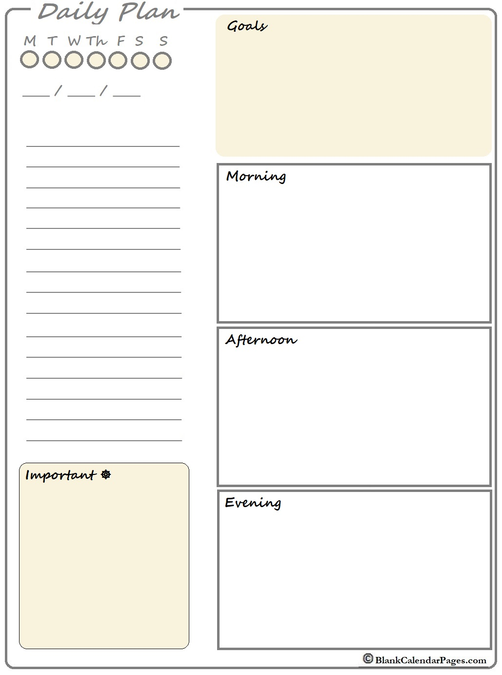 2020 daily to do list printable planner