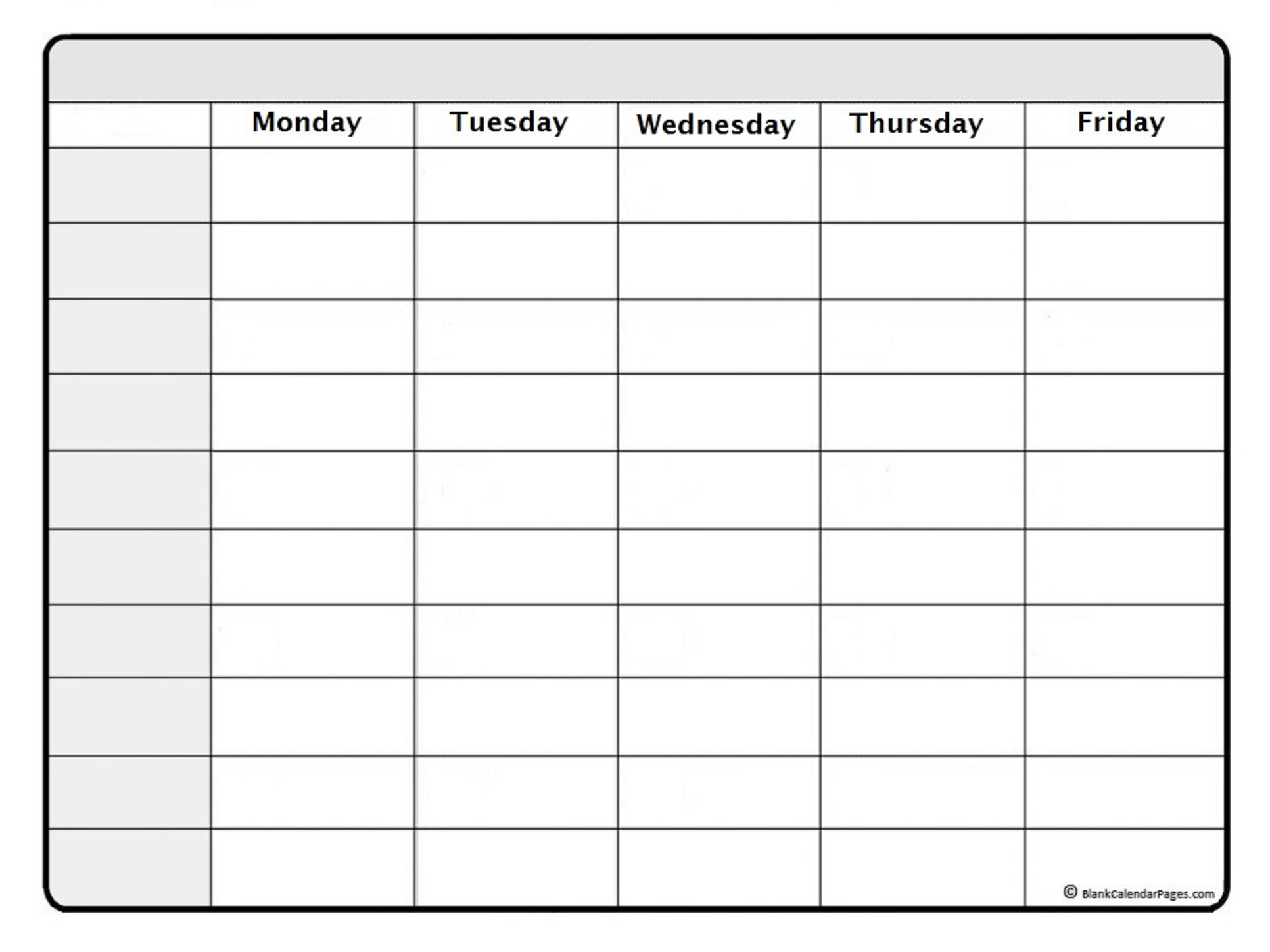 March 2019 Weekly Calendar March 2019 Weekly Calendar Template